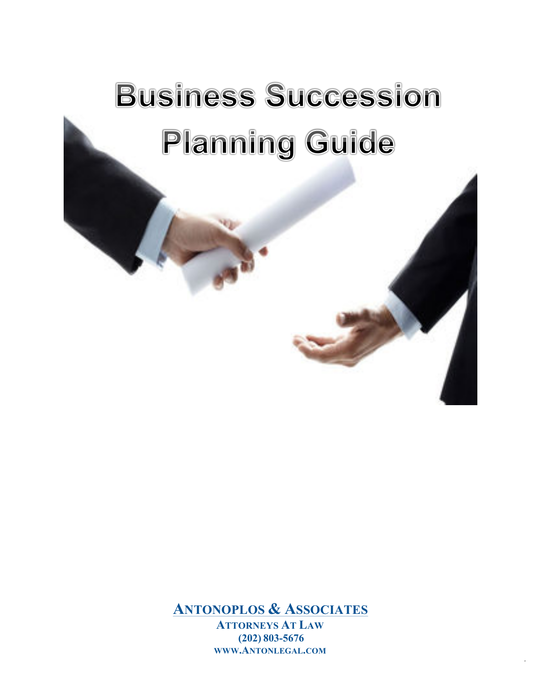 Business Succession Planning Guide