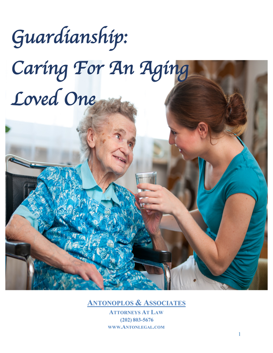Guardianship: Caring For An Aging Loved One