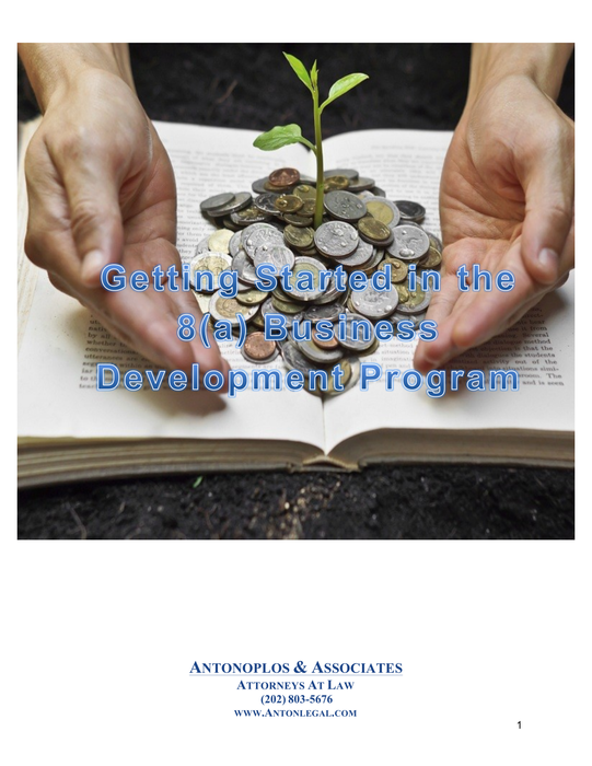 Getting Started in the 8(a) Business Development Program